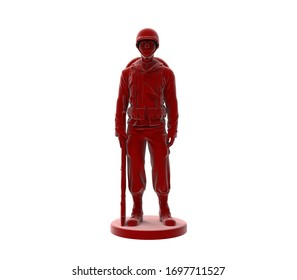 3d illustration of the soldier