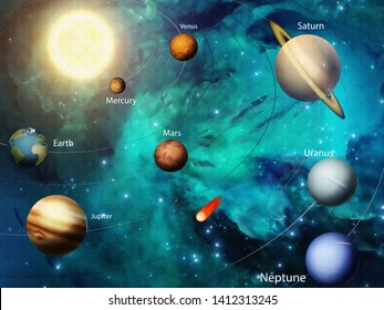 Solar System Images, Stock Photos & Vectors | Shutterstock