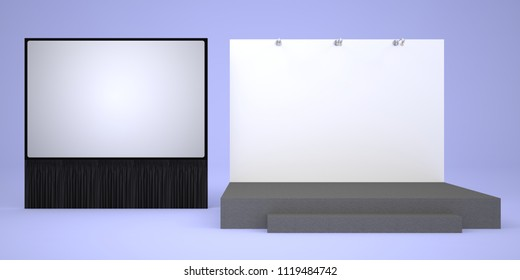 Stage Backdrop Images, Stock Photos & Vectors | Shutterstock