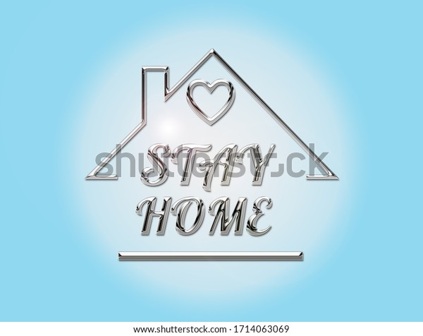 3d-illustration-stay-home-text-600w-1714