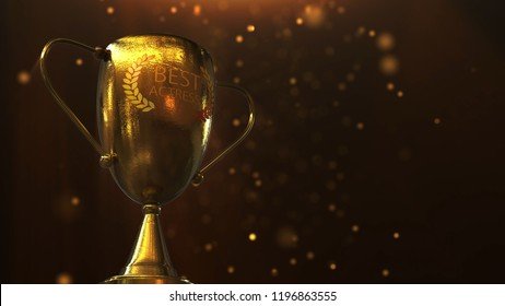 3D illustration 3D Trophy