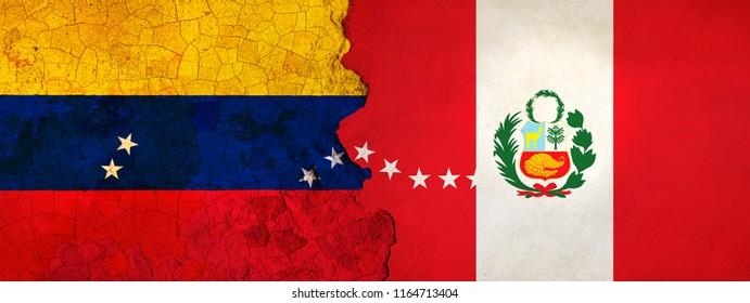 3D Illustration for Venezuelan migrants fleeing to Peru as economic and political crisis worsens.