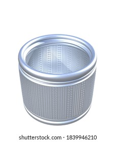 3D illustration of washing machine tub