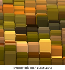 3D illustration. Web modern backdrop. Colorful pattern. Abstract geometric shapes. Background.