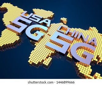 China and Us Map Images, Stock Photos & Vectors   Shutterstock
