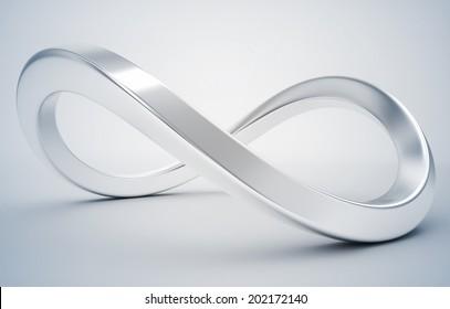3d infinity icon