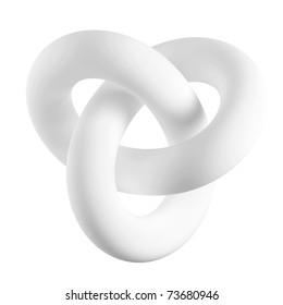 3d Infinity Shape