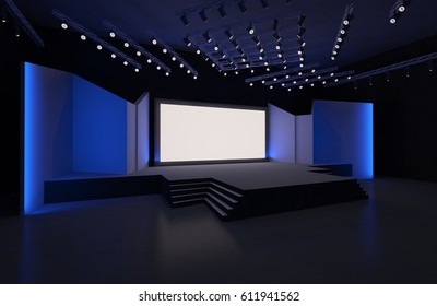 3d Stage Design Images Stock Photos Amp Vectors Shutterstock