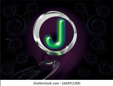 j wallpaper images stock photos vectors shutterstock https www shutterstock com image illustration 3d j letter illustration decals fabric 1643911300