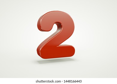 3d letter collection with white background