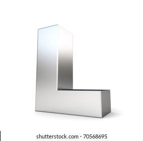 3d letter l images stock photos vectors shutterstock https www shutterstock com image illustration 3d letter l my metal collection 70568695