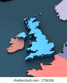 3d Map Of England.England 3d Map Images Stock Photos Vectors Shutterstock