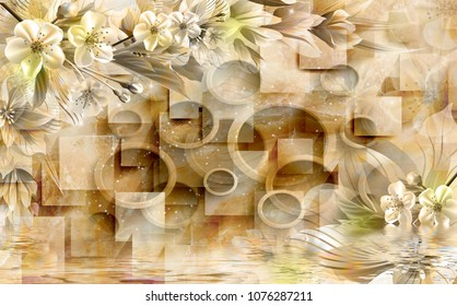 3d Wallpaper Images Stock Photos Amp Vectors Shutterstock
