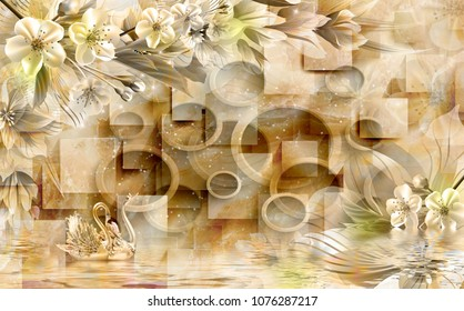 Drawing Wallpaper Images Stock Photos Vectors Shutterstock