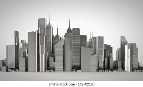 3d metal city, studio version