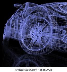 3d model cars