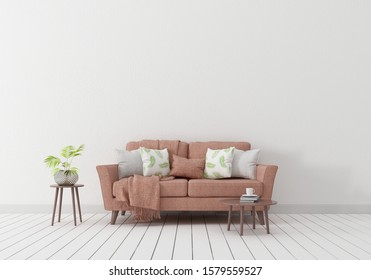 3d model sofa, Indoor pictures where you can exhibit wall products Brown