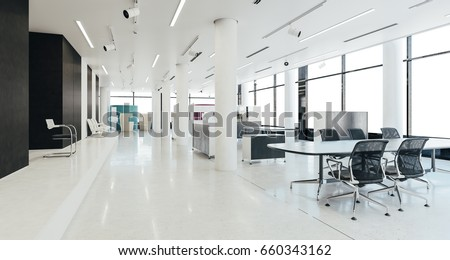 Free office space Brooklyn 3d Modern Office Space Interior Render Labs Of Latvia Modern Office Space Interior Render Stock Illustration Royalty