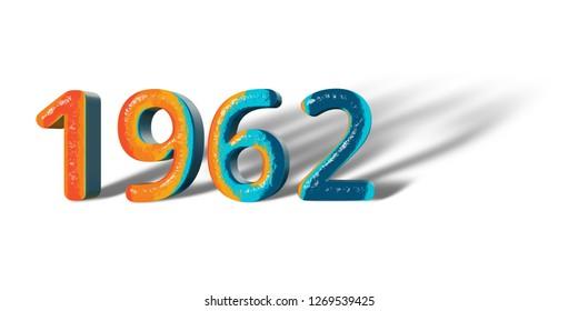 Year 1962 Images, Stock Photos & Vectors   Shutterstock