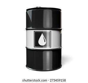 3D. Oil Drum, Oil, Barrel.