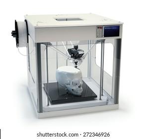 3D printing a human skull - rapid prototyping prosthetics