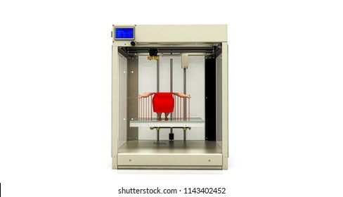 3d printing, printer, rapid prototyping, technology, 3d illustration