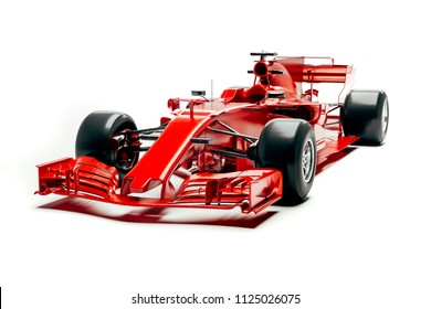 3d race car render