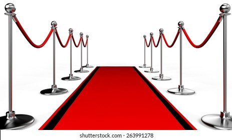3D. Red Carpet, Movie, Hollywood - California.