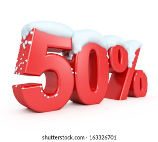 3d red snowy discount collection - 50%