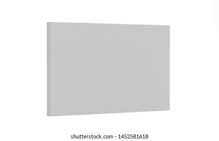 3d render 2x3 backdrop mockup. Realistic isolated template for your design