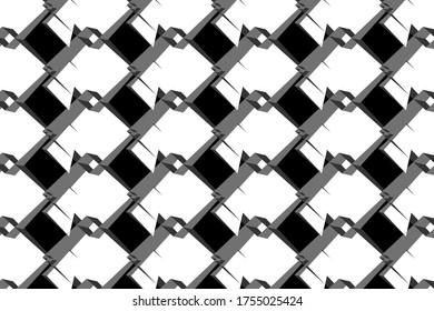 3d render abstract pattern illustration