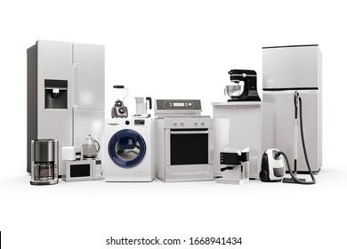 3D-Rendering von Haushaltsgeräten