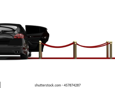 3D render image representing a luxury car / luxury car concept