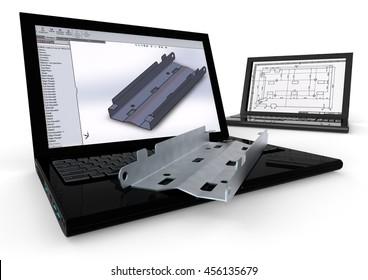 3D render image representing 3D modeling / 3D Modeling