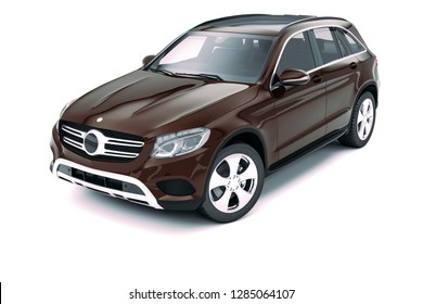 3d render of luxury sport SUV car