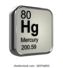 3d render of Mercury element design