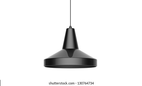 3d render of a modern Cool Pendant isolated on white