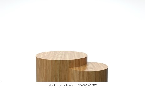 3d render ofbackground with a pedestal and a showcase, abstract minimal concept, blank space, simple clean design, minimalist mockup