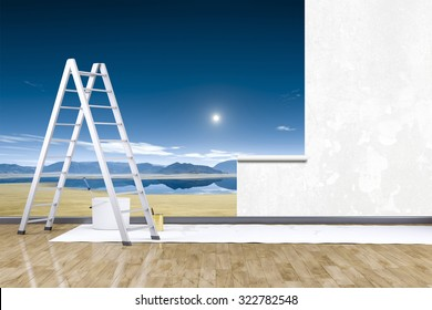 Wall Mural Images Stock Photos Amp Vectors Shutterstock