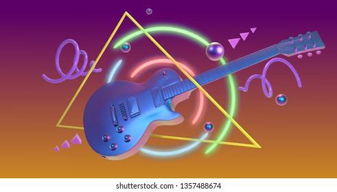 Instruments 80s Stock Illustrations, Images & Vectors
