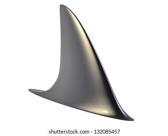 3d render of Shark Fin