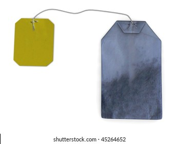 3d render of tea bag