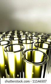 3D Render Test Tube