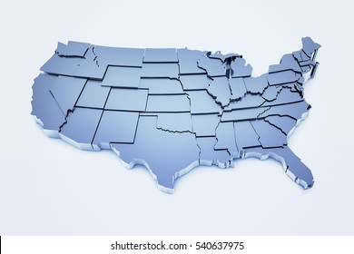 united states map 3d 3d United States Map Images Stock Photos Vectors Shutterstock