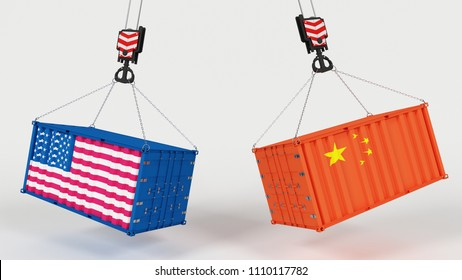 3D Render of US Import Tarrifs