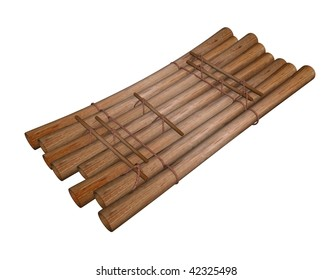 Wooden Raft Images Stock Photos Vectors Shutterstock