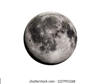 3d rendered illustration of the moon