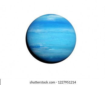 3d rendered illustration of the neptune