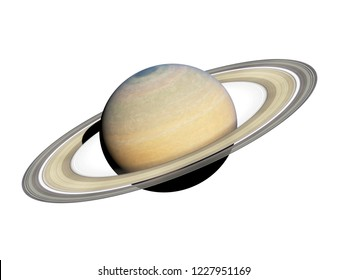 3d rendered illustration of the saturn