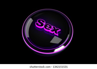 3D rendered Illustration of a Sex Pushbutton.